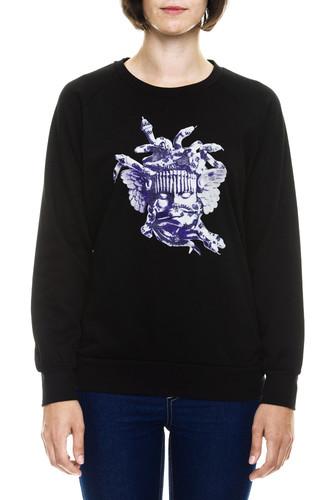 Фото - Толстовка CROOKS & CASTLES W Corrupt Medusa Crew Sweatshirt (Black, XS) ess no 1 crew sweat tr w