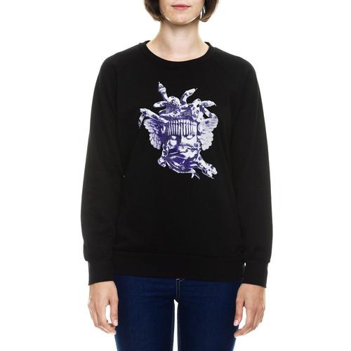 Толстовка CROOKS & CASTLES W Corrupt Medusa Crew Sweatshirt (Black, XS)