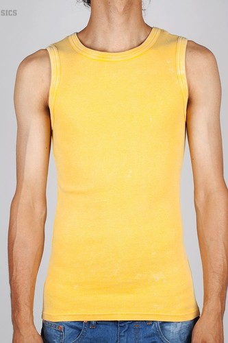 Майка URBAN CLASSICS Faded Tanktop (Yellow, XL)