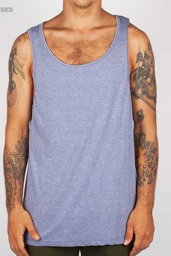 Майка URBAN CLASSICS Burnout Jersey Big Tank (Denim-Blue, XL)