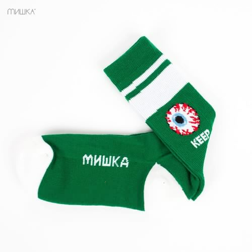 Носки МИШКА Keep Watch Socks (Green, O/S)