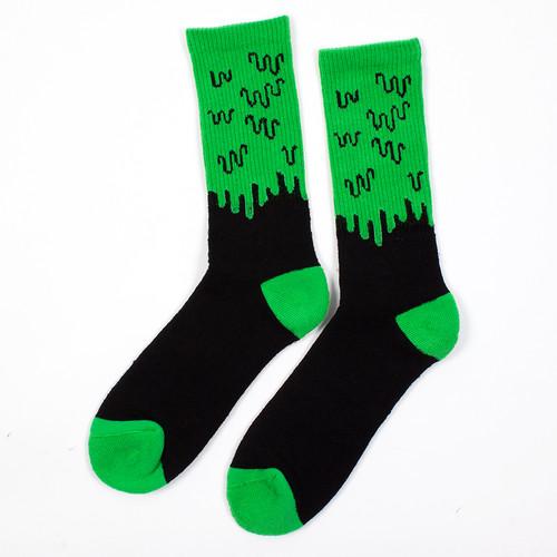 лучшая цена Носки МИШКА Slime Socks (Black, O/S)