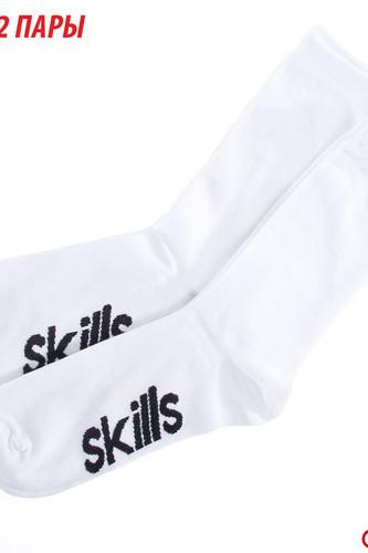 Носки SKILLS Long Slim (White, O/S) цена