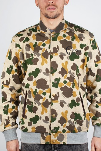 Толстовка CROOKS & CASTLES I1370304 (Tan-Camo, XL)