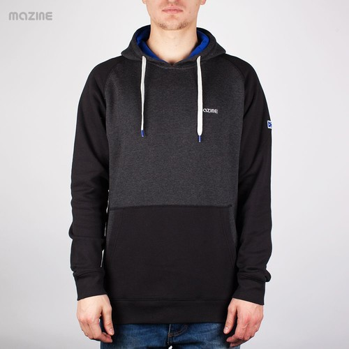 Толстовка MAZINE Male Basic Hoody FW13 (Black-Mel-Black, XS) gdw az4 universal male to male dupont cables set for arduino black 22 5cm 40 pcs