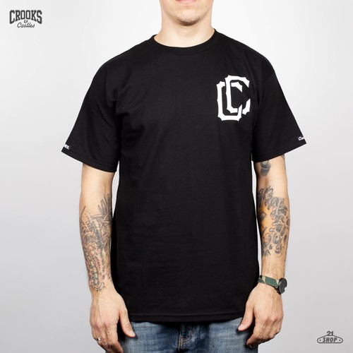 Футболка CROOKS & CASTLES I1260709 (Black, S) футболка crooks
