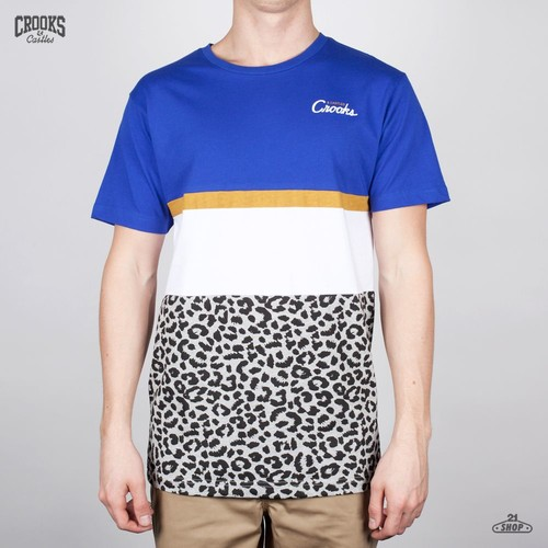 Футболка CROOKS & CASTLES I1320117 (Cobalt-Cheetah, L) футболка crooks