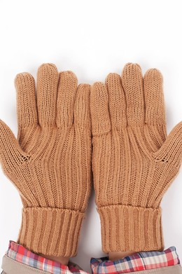 Перчатки HARRISON James Gloves Beige фото 2