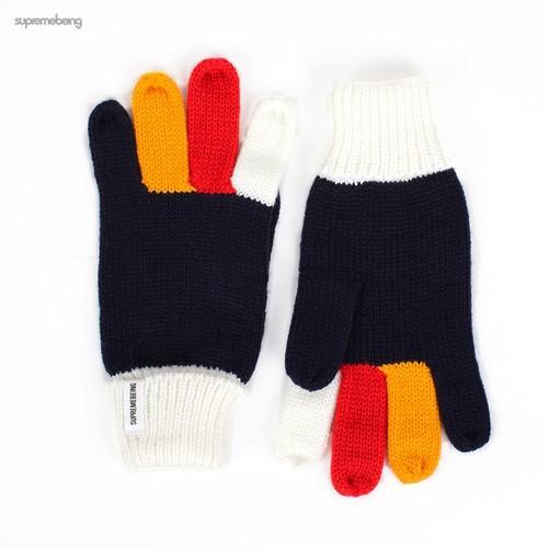 Перчатки SUPREMEBEING Paws (Navy, O/S)