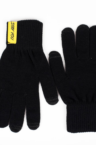Перчатки TRUESPIN Don't Touch Gloves (Black, O/S)
