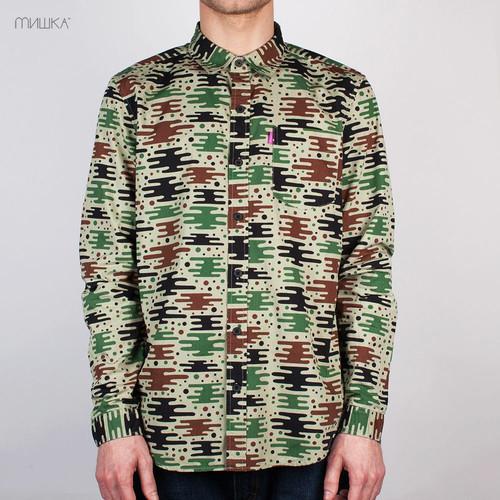 купить Рубашка МИШКА SP141406B (Brown, S) по цене 1425 рублей