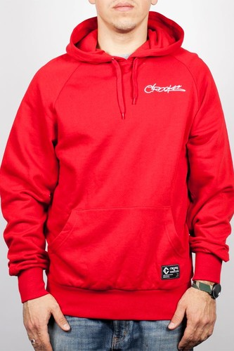 Толстовка CROOKS & CASTLES Slasher Hood (True-Red, L)