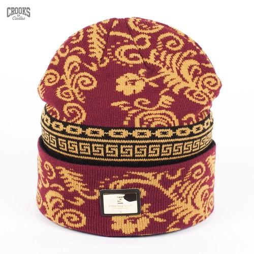 Шапка CROOKS & CASTLES I1380826 (Multi) шапка humor stomp hood multi
