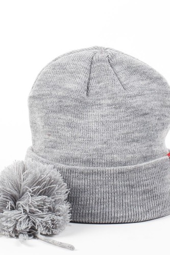 Шапка DJINNS Beanie Removable Bubble (Heather Grey) цена 2017