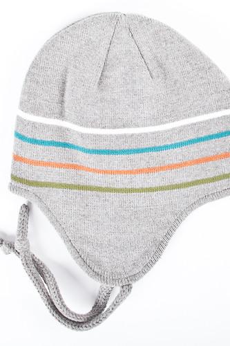 Шапка DJINNS Flap Beani Striped (Grey)