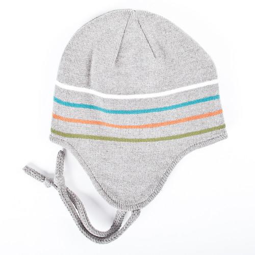 Шапка DJINNS Flap Beani Striped (Grey) недорого