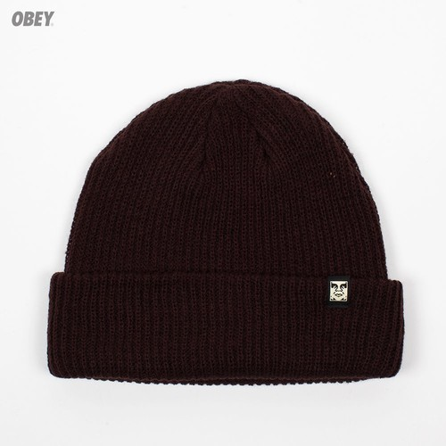Шапка OBEY Ruger Beanie (Brown) шапка obey ruger beanie obn134 heather indigo