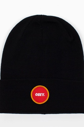 Шапка OBEY Circle Patch Beanie (Black) стоимость