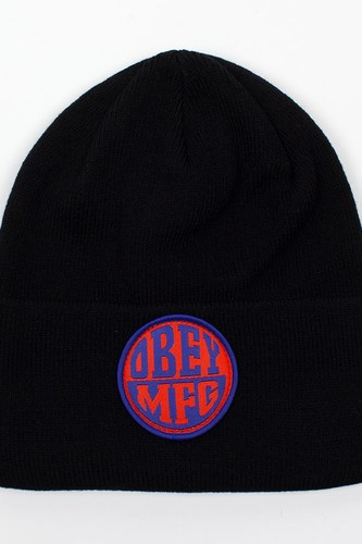 Шапка OBEY Badge Beanie (Black) audio beanie