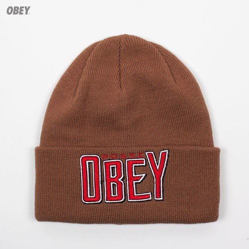 Шапка OBEY Propaganda Beanie (Brown)