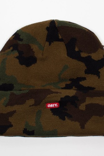 Шапка OBEY Infantry Beanie (Field-Camo) шапка obey luxury beanie red