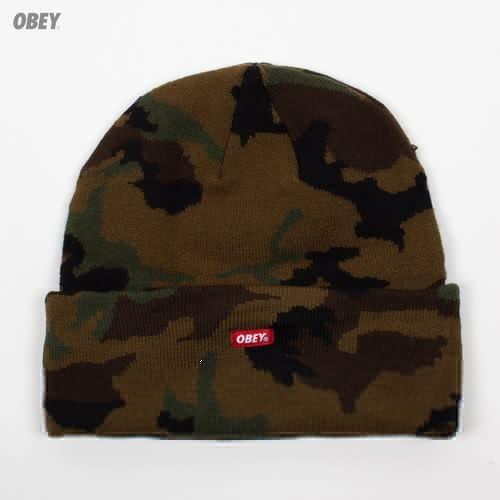 Шапка OBEY Infantry Beanie (Field-Camo) шапка obey ruger beanie brown
