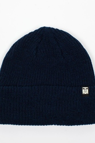 Шапка OBEY Ruger Beanie OBN134 (Heather-Indigo) шапка obey circle patch beanie black