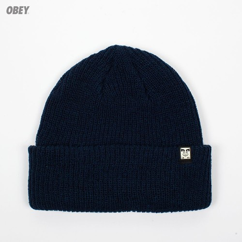 Шапка OBEY Ruger Beanie OBN134 (Heather-Indigo) шапка obey ruger beanie brown