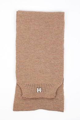 Шарф HARRISON Henry Strong Scarf Brown-Melange фото