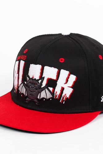 Бейсболка DJINNS 6P Snapback Team Red Blacks (Red-Black, O/S) цена