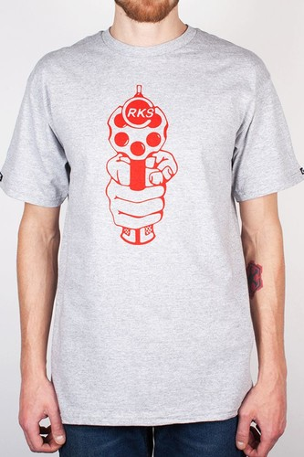 Футболка CROOKS & CASTLES Roulette 2 (Heather-Grey, L)