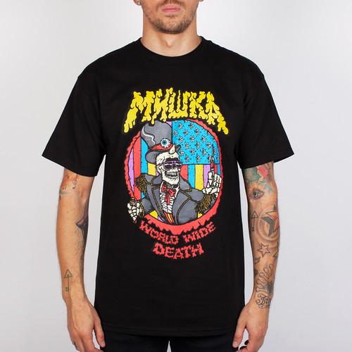 Футболка MISHKA Cyco Pusher Tee (Black, XL) футболка mishka paralyzed tee black m