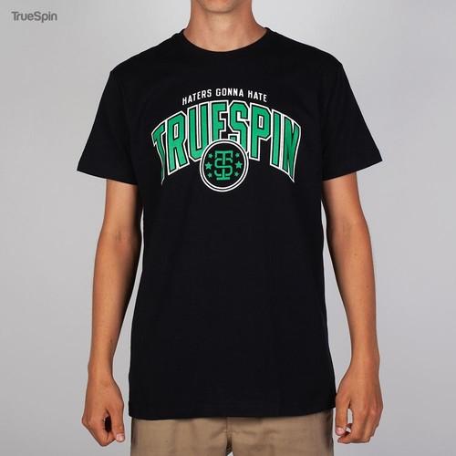 Футболка TRUESPIN Truespin-2 (Black-Green, 2XL) цена и фото