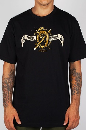 Футболка TURBOKOLOR Hors Eshoe (Black, 2XL)