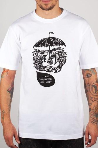 Футболка TURBOKOLOR Umbrella (White, M)
