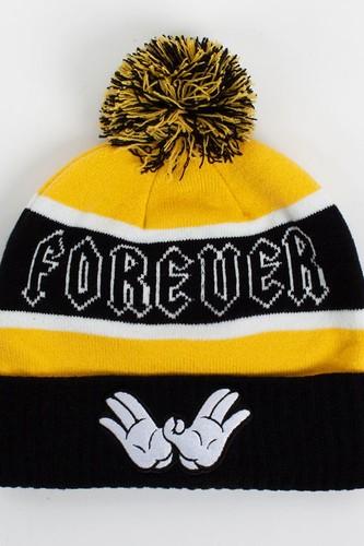 Шапка CAYLER & SONS Forever Pom Pom Beanie (Black-Yellow-White) шапка cayler