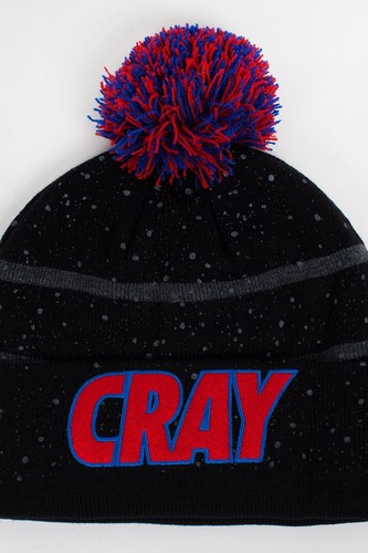 Шапка CAYLER & SONS Cray Pom Beanie (Black-Red-Grey)