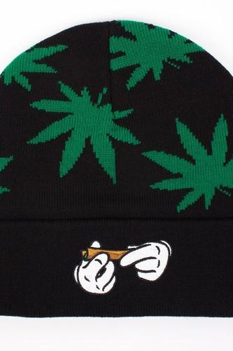 Шапка CAYLER & SONS #kush Beanie (Black-Green-White) шапка cayler