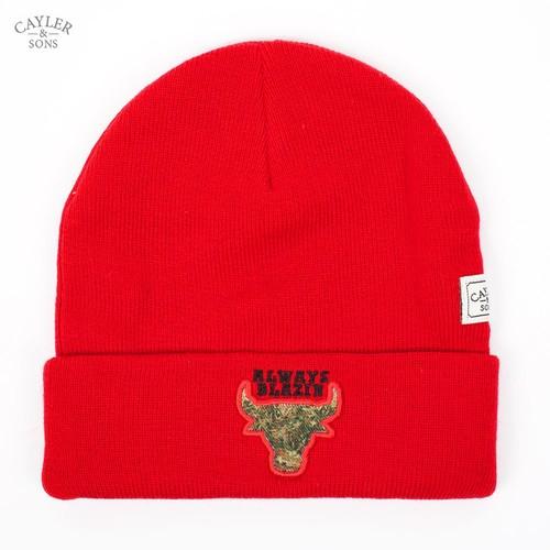 Шапка CAYLER & SONS Blazin' Beanie (Red-Black-Kush) шапка armour sailor beanie red
