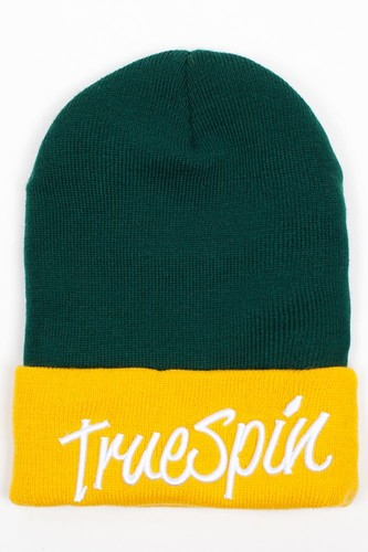 Шапка TRUESPIN Stay True 2 Tone (Green-Yellow) стоимость