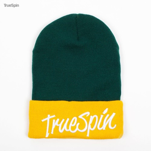Шапка TRUESPIN Stay True 2 Tone (Green-Yellow) шапка truespin basic dark green
