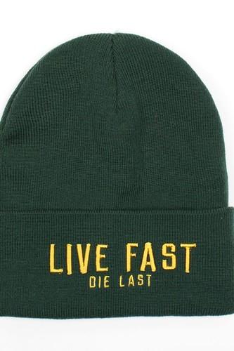 Шапка TRUESPIN Live Fast (Green) шапка truespin frozen green