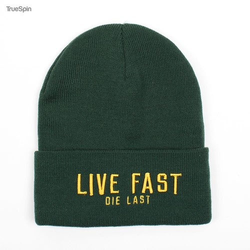 Шапка TRUESPIN Live Fast (Green) шапка truespin abc fw15 black black w