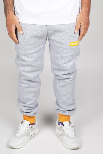 Брюки TRUESPIN (Heather Grey/Yellow, S)