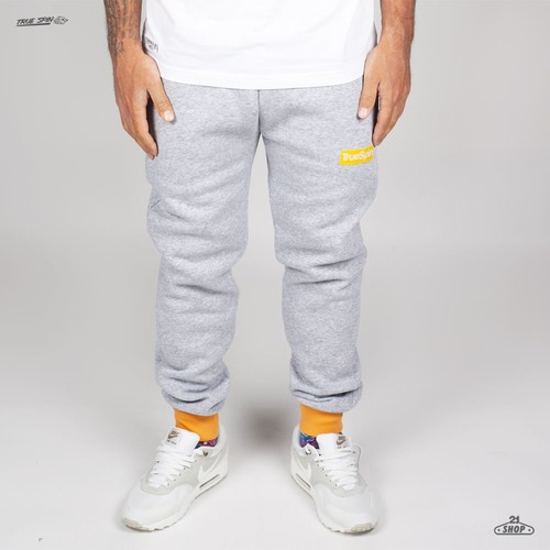 Брюки TRUESPIN (Heather Grey/Yellow, S) цена