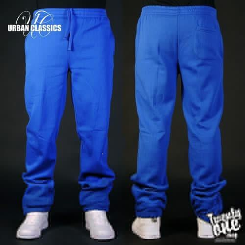 Брюки URBAN CLASSICS Relaxed Sweatpants (Royal, S)