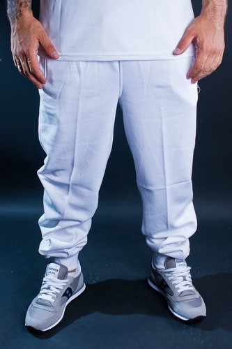 Брюки URBAN CLASSICS Straight Fit Sweatpants (White, XS)
