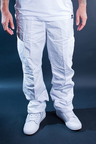 Брюки URBAN CLASSICS Combat Cargo Pants (White, 38) merrto 2016 quality hiking pants for