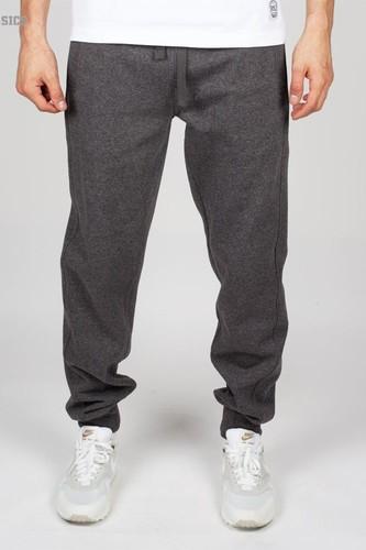 Брюки URBAN CLASSICS Melange Sweatpants (Black-Blue, M) стоимость