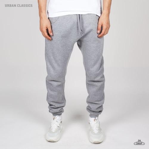 Брюки URBAN CLASSICS Deep Crotch Sweatpants (Grey, XS) брюки urban classics straight fit sweatpants white xs